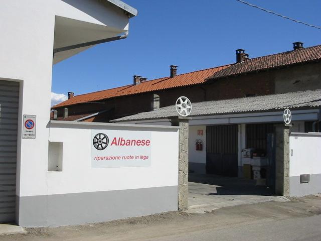 Albanese, riparazione cerchi in lega